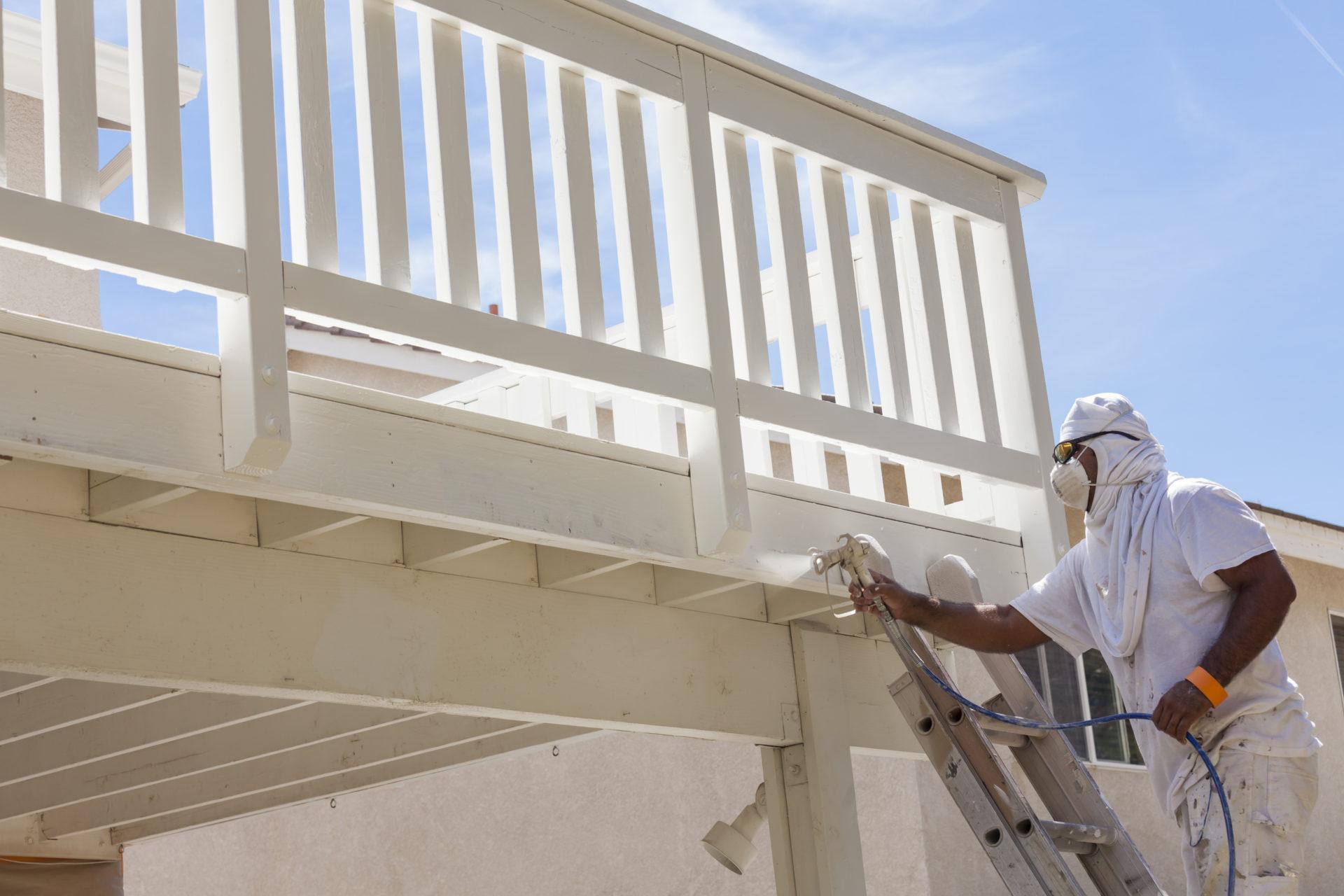 Deck Painters Blacksburg VA